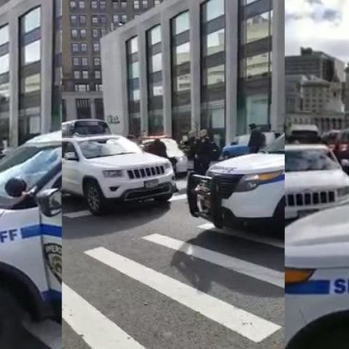 WATCH: NYPD Sergeant Arrested After Refusing to Move Double-Parked Car