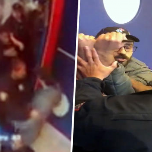 WATCH: NJ Police Officers Suspended After Storming Domino's Over Undelivered Pizza