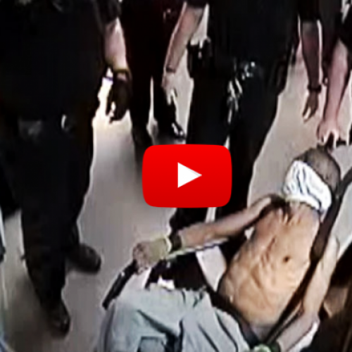 WATCH: Horrifying Video Shows Man Choking To Death On Vomit While Police Restrain Him