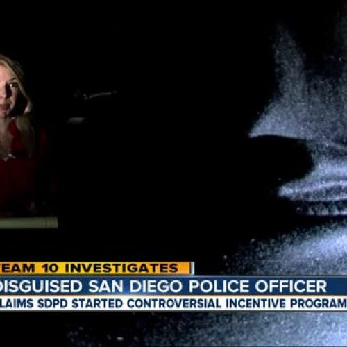 WATCH: San Diego Police Officer Blows Whistle on 'Rewards For Arrests' Program