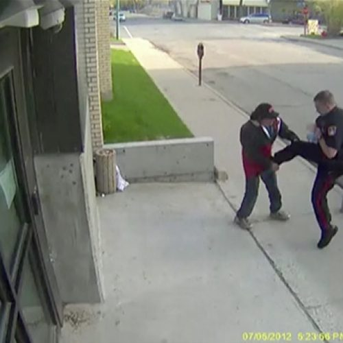 WATCH: Regina Police Officer Guilty of Assaulting Homeless Man