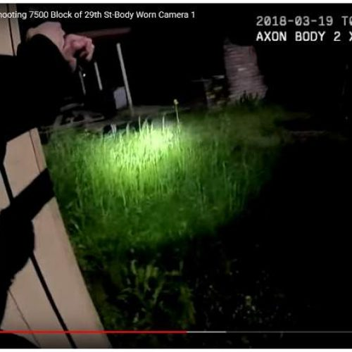 WATCH: Sacramento Police Department Release Body Cam Footage of  Stephon Clark Shooting