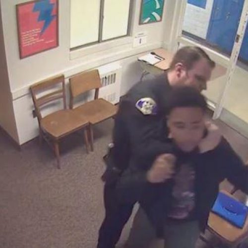 WATCH: Pittsburgh Cop Chokes A Kid & Knocks His Front Tooth Out For No Reason