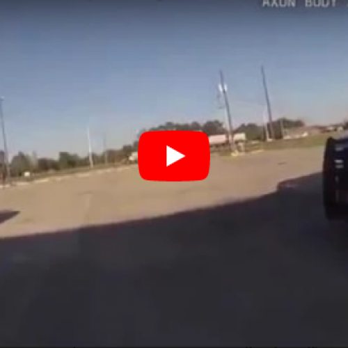 WATCH: Louisiana Officer Resigns After Waving Gun in Air and Shouting Threats