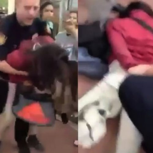 WATCH: Video Shows San Antonio School Police Officer Body-Slamming 12 Year Old Student