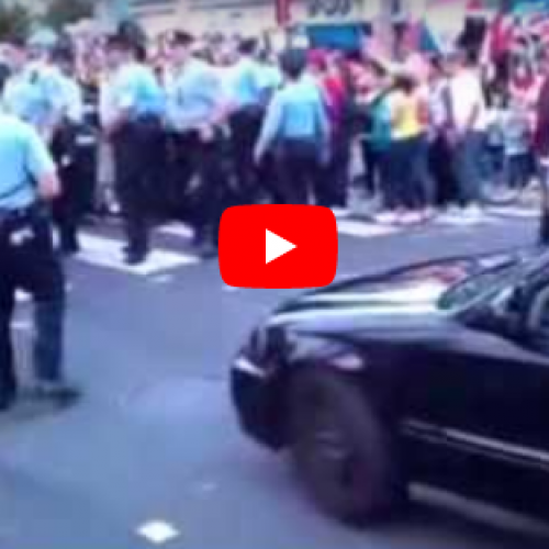 WATCH: Philadelphia Cop Caught Punching Woman in The Face