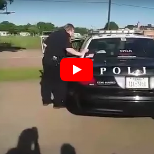 WATCH: Fort Worth Police Officer Caught on Camera Hitting Teen