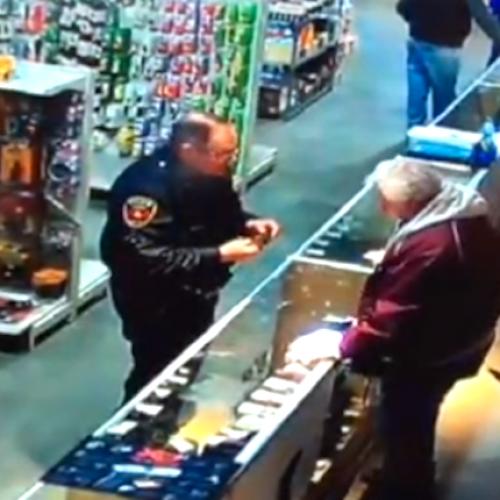 WATCH: Kentucky Cop Shoots Off Finger After Gun Store Clerk Hands Him Loaded Weapon