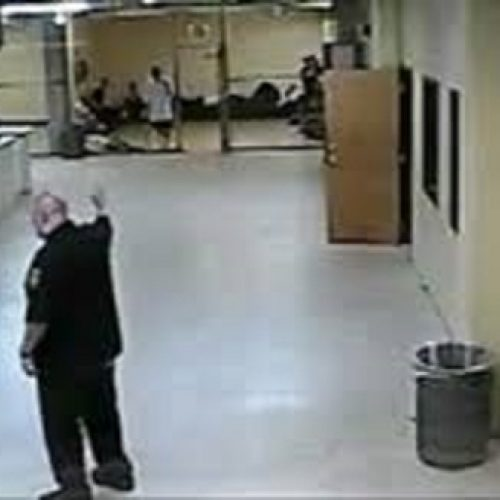 WATCH: Illinois Jail Guard Spared Prison For Unprovoked Attack on Detainee