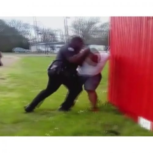 WATCH: Judge Dismisses Case Against Fired Officer Seen on Video Punching Handcuffed Man