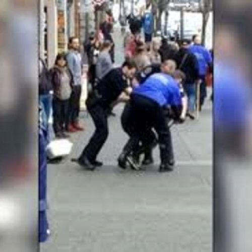 WATCH: Victoria Police Knee Teen Girl in Ribs During Arrest