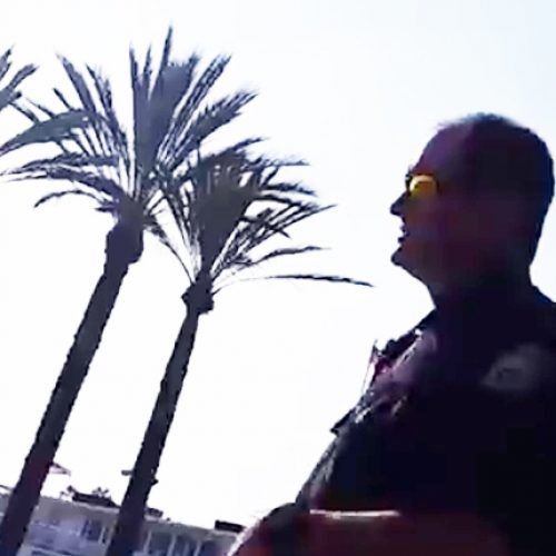 WATCH: BMX Bike Rider Schools CA Cop by Knowing The Real Law — Not The 'Bullsh*t' One He Made Up