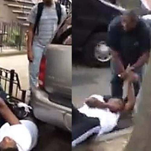 WATCH: NYPD Officer Knocks Teen Unconscious With Punch Over Suspicious Cigarette