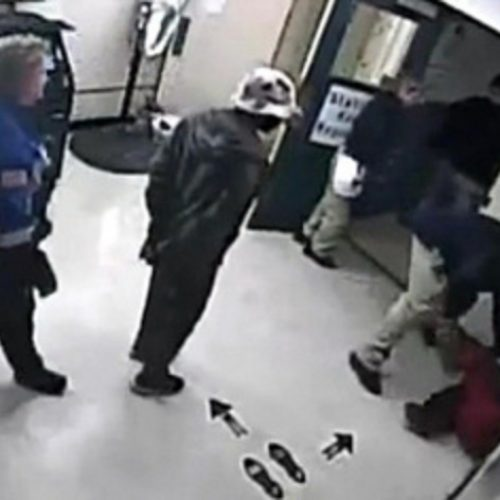 WATCH: Video Shows Handcuffed Prisoner Get Knocked Out By Detention Officer