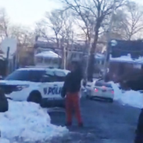 WATCH: New Rochelle Police Officer Holds Teens at Gunpoint