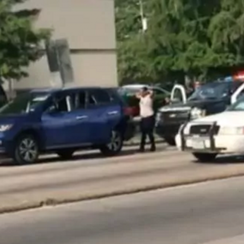 WATCH: Houston Police Officer Heard Telling Woman to Put Hands up and 'Pretend Like We're Going to Shoot You'