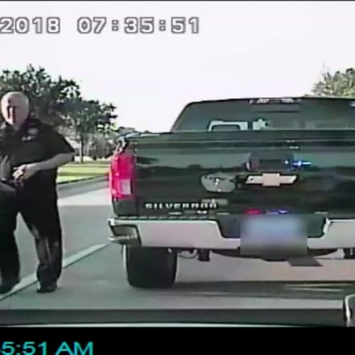 Dashcam Catches Testy Exchange After Harris County Pct. 4 Constable Pulled Over For Running Red Light