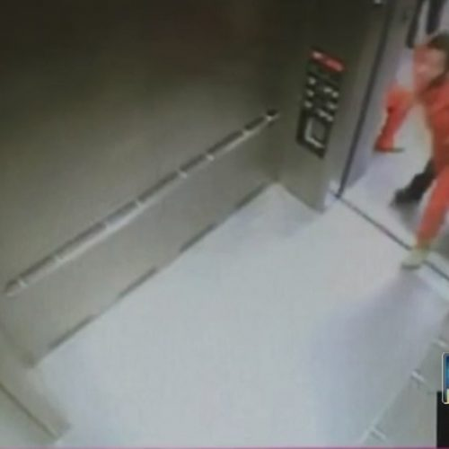WATCH: Surveillance Footage Shows Clayton County Deputy Shove Inmate Into Elevator Wall