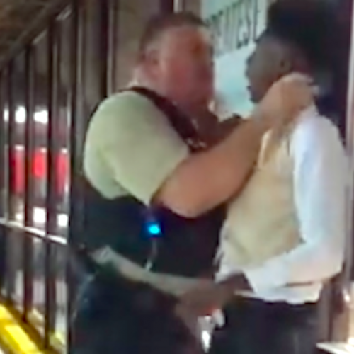 WATCH: North Carolina Cop Puts A Man In A Chokehold Outside A Waffle House