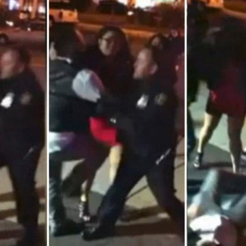 WATCH: New Jersey Cop Punches Woman In The Face Outside Club