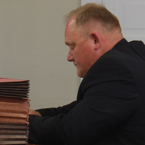 WATCH: North Dakota Sheriff Sentenced to 25 Days of Home Confinement For Consumption of Meth