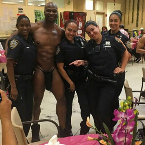 NYPD Cops Pose For Picture With Male Strippers, What Could Go Wrong?