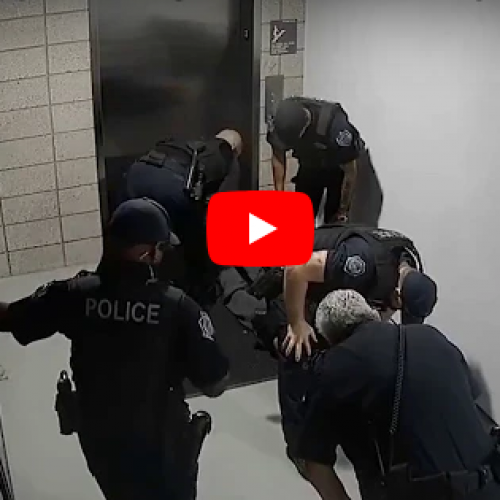 WATCH: Four Mesa Officers on Leave After Video Shows Punches Thrown at Suspect