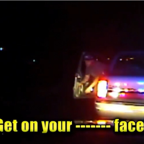 WATCH: Pregnant Woman Pleads With Cop Who Pulled Out Gun During Traffic Stop: 'My Water Broke!'