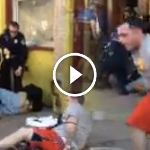 WATCH: Police Swarm Innocent Man, While Guilty One Gets Away