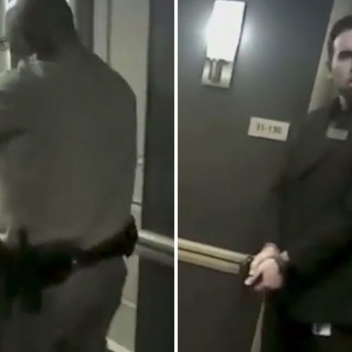 WATCH: Footage Shows Cops Waiting in Hallway During Las Vegas Massacre