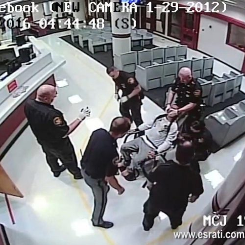 WATCH: Man Pepper Sprayed by Police Multiple Times While Restrained