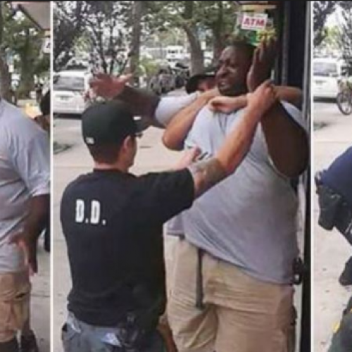 WATCH: NYPD Files Formal Departmental Charges Against Officers in Eric Garner Case