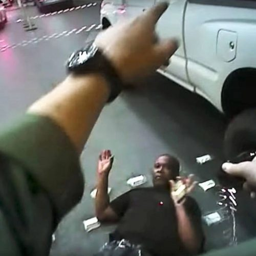 WATCH: Police Officer Will Not be Indicted in Man's Death on Las Vegas Strip