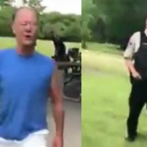 WATCH: Drunk US Man Berates Woman Over Puerto Rican Flag Shirt as Cop Stands By