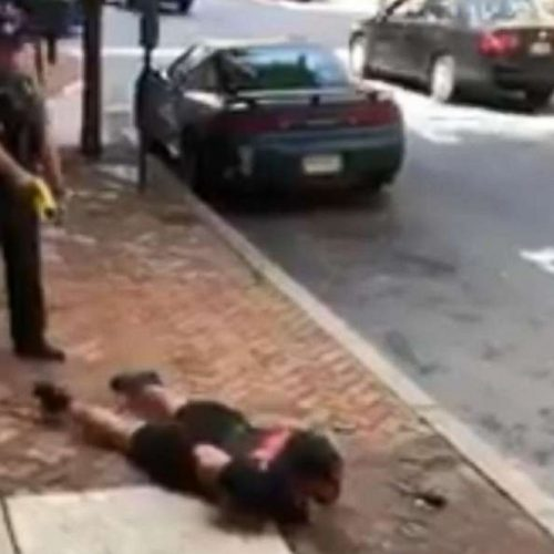 WATCH: Man Shot With Taser While Complying Files Lawsuit Against Police Department