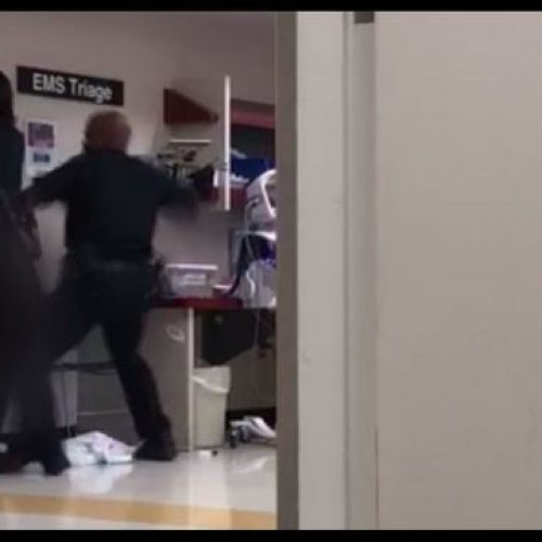 WATCH: Detroit Police Officer Punches Naked Woman Inside Detroit Receiving Hospital