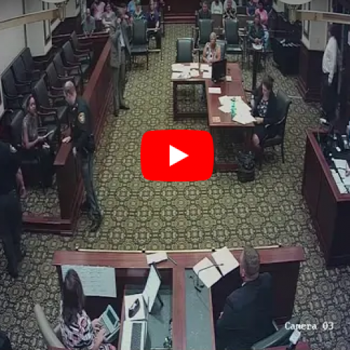 WATCH: Kassandra Jackson Was Seeking A Protection Order, Judge Assaulted Her Instead