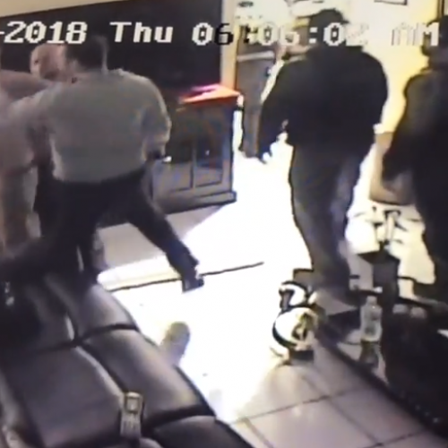 WATCH: Miami-Dade Cop Hits Handcuffed Suspect in Face